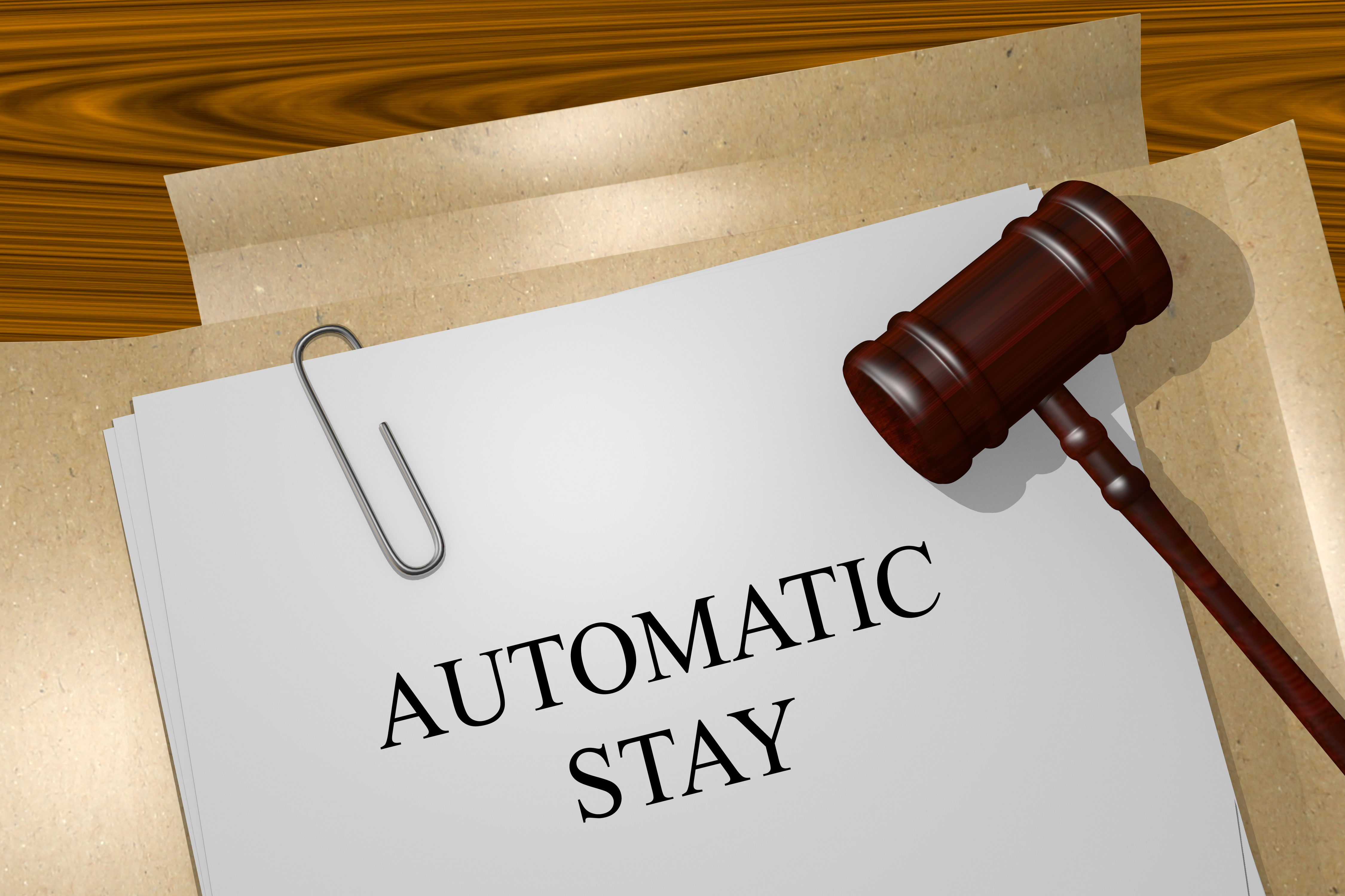 Automatic Stay in Chapter 13 Bankruptcy - Maryland Bankruptcy Lawyer